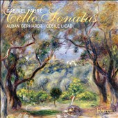 Fauré: Cello Sonatas / Alban Gerhardt, cello; Cecile Licad, piano