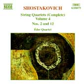 Shostakovich: String Quartets Vol 4 / Éder Quartet