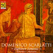Scarlatti: Eighteen Sonatas / Eiji Hashimoto