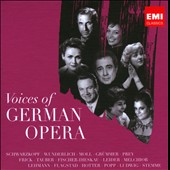 Voices of German Opera - arias by Weber, Marschner, Lortzing, Flotow, Humperdinck / Schwarzkopf, Wunderlich, Moll, Prey, Frick et al.