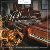 Historical Master Instruments: Harpsichord, Early Piano & Clavichord - works by J.S. Bach; C.P.E. Bach; Giusepe Paladini; Frescobaldi / Schrammek, Brautigam, Thalheim
