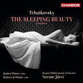 Tchaikovsky: Sleeping Beauty / Neeme J&auml;rvi, Bergen Philharmonic Orchestra; James Ehnes, violin; Robert deMaine, cello