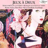 Jeux a Deux- Music for Flute & Harp / Aitken, Goodman
