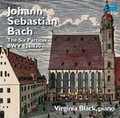 J.S. Bach: The Six Partitas, BWV 825 - 830 / Virginia Black: piano