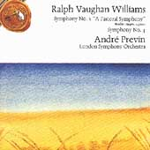 Vaughan Williams: Symphonies nos 3 & 4 / Previn, London SO