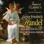 Handel: Water Music Suite Nos. 1 & 2 - Music for the Royal Fireworks / South German PO