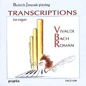 Bedrich Janacek playing Transcriptions for organ
