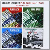 Jacques Loussier: Jacques Loussier Play Bach Vols. 1, 2, 3 Plus Plays Kurt Weill