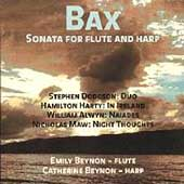 Bax: Sonata for Flute and Harp;  Maw, et al / E. & C. Beynon