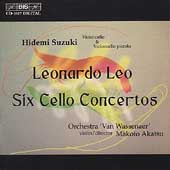 Leo: Six Cello Concertos / Suzuki, Akatsu, et al