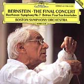 Bernstein - The Final Concert / Boston Symphony Orchestra