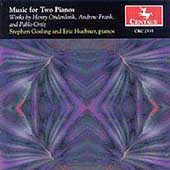 Music for Two Pianos - Onderdonk, et al / Gosling, Huebner