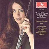 Twentieth Century Works for Flute and Orchestra / DeJongh