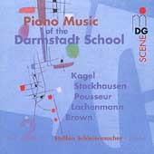 SCENE  Piano Music of the Darmstadt School Vol 2