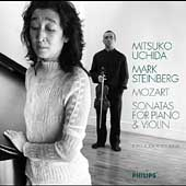 Mozart: Sonatas for Piano & Violin / Uchida, Steinberg