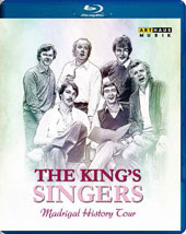 Madrigal History Tour - An introduction to the Golden Age of the 16th century madrigal in Germany, Spain, France, England & Italy / The King's Singers [Blu-ray]