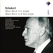 Schubert: Mass No.4 In C Major, Mass No.5 In A Flat Major