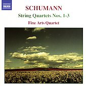 Schumann: String Quartets 1-3 / Fine Arts Quartet