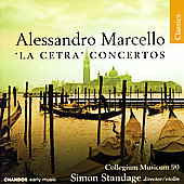 Classics - Marcello: 'La Cetra' Concertos, etc / Standage