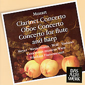 Mozart: Clarinet Concerto, etc / Meyer, Harnoncourt, et al