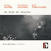 Kurt&aacute;g: Un brin de bruy&egrave;re, etc: Works for Cimbalom