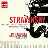 EMI 20th Century Classics - Stravinsky: Le sacre du printemps, P&eacute;trouchka, etc / Rattle, et al