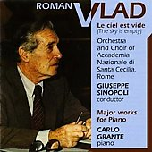 Vlad: Dodecaphonic Studies, Le ciel est vide, etc / Sinopoli, Grante, et al