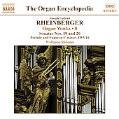 Rheinberger: Organ Encyclopedia - Organ Works Vol 8 / Rübsam