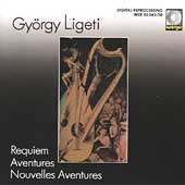 Ligeti: Aventures, Nouvelles Aventures, Requiem / Maderna