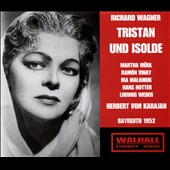Richard Wagner: Tristan und Isolde / Martha Modl, Hans Hotter, Ramon Vinay; Choir & Orchestra of the Bayreuth Festspiele, Von Karajan