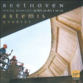 Beethoven: String Quartets Op.18/3, Op. 18/5, Op. 135