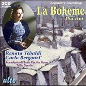 Puccini: La boh&#232;me / Tulio Serafin, Tebaldi, Bergonzi, Gianna