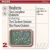 Brahms: Complete Quintets / Berlin Philharmonic Octet, Haas