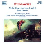 Wieniawski: Violin Concertos 1 & 2, etc / Bisengaliev, Wit