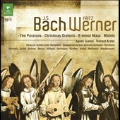 J.S. Bach: The Passions; Christmas Oratorio; B minor Mass; Motets / Agnes Giebel; Helmut Krebs [10 CDs]
