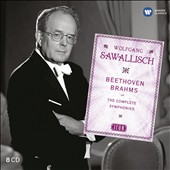 Icon: Wolfgang Sawallisch - Beethoven: Complete Symphonies; Brahms: Complete Orchestral Works [8 CDs]
