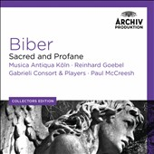 Biber: Sacred and Profane / Musica Antiqua Koln; Gabrieli Consort & Players [7 CDs]