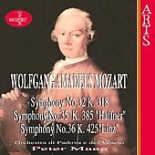 Mozart: Symphonies no 32, 35, 36 / Peter Maag