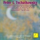Tchaikovsky: Swan Lake; Sleeping Beauty; Nutcracker Suites / Volgograd Philharmonic Orchestra; Serov