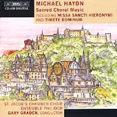 M. Haydn: Sacred Choral Music / Gary Graden, Persson, et al