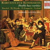 Rarit&#228;ten f&#252;r Kontrabass- Rossini, et al / Sanderling, et al