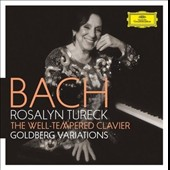 J.S. Bach: The Well-Tempered Clavier; Goldberg Variations / Rosalyn Tureck, piano