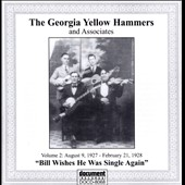 Georgia Yellow Hammers: The Georgia Yellow Hammers & Associates, Vol. 2:  August 9, 1927 - February 21, 1928
