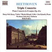 Beethoven: Triple Concerto, etc / Kang, Kliegel, Jand&oacute;
