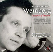 Mieczyslaw Weinberg: 'In Search of Freedom' - Piano Quartets Nos. 10 & 13; Piano Quintet, Op. 18 / Nikita Mndoyants, piano; Zemlinsky Quartet