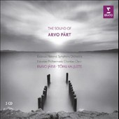 The Sound of Arvo Part (b.1935) - Various Works / Estonian National SO, Paavo Järvi; Estonian Philharmonic Chamber Choir, Tõnu Kaljuste