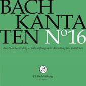 J.S. Bach: Cantatas, Vol. 16 - Cantatas BWV 9, 30 & 158 / Julia Sophie Wagner, soprano; Terry Wey, tenor; Alex Potter, tenor; Charles Daniels, tenor; Klaus Mertens, bass; Peter Harvey, bass