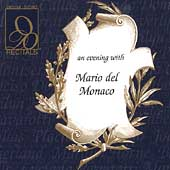 Recitals - An Evening with Mario del Monaco