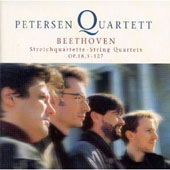 Beethoven: String Quartets Op 18 no 3, 127 /Petersen Quartett
