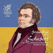 Schubert: The Three Posthumous Sonatas, etc / Jerome Rose